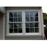 Quality Customized Aluminum Vertical Sliding Windows /  Double Or Single Hung Window for sale