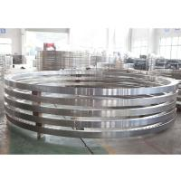 Quality AWWA C207 class B class D ASTM A182 F317L steel-ring flange for sale