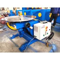 Quality 1.5KW Tilting Tube Welding Positioners With Hand Control Box Fully European Standard for sale