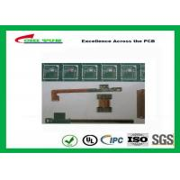 Quality Rigid-Flex Quick Turn PCB Prototypes Base on IPC-2223 Guidelines Yellow and Green for sale