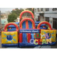 Quality EN14960 Huge Inflatable Obstacle Course for sale
