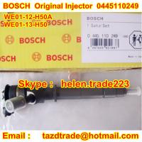 Quality BOSCH Original Injector 0445110249 /WE01-13-H50 /WE01-12-H50A for MAZDA BT-50  WE0113H50 for sale