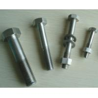Quality hastelloy alloy bolt nut washer for sale