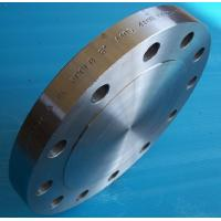 Quality ASTM A350 LF2 F316L F321 SUS304 Steel Pipe Flange CLASS 2500 , Forged Blind Flange Bushings Steel for sale