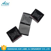 Quality Black Color Personalized Custom Fabric Labels For Clothes , Logo Design for sale