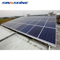Quality China new energy on grid sun power 1 megawatt solar system price for sale