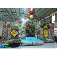 Quality New The Gorilla Inflatable Fun City Animals The construction inflatable Amusement Park For Children under 12 years for sale