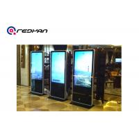China Non - touch Advertising Kiosk digital signage media player 47 inch Iphone Style Frame LCD Totem on sale