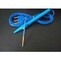 Quality Medical Surgical Equipment, 3m Disposable Esu Pencil , FAD Diathermy Electrosurgical Pencil PVC Insulation for sale