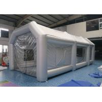 China Car Workstation Fireproof Portable Inflatable Spray Paint Booth Easy To Carry on sale