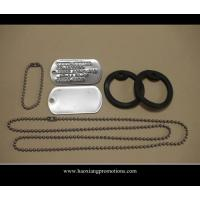 Quality Wholesale no minimum blank cheap dog tag/custom silver,gold,bronze dog tag with ball chain for sale