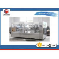 Quality Electric Small Soda Bottling Equipment , High Speed Drink Bottling Machine 12000BPH for sale