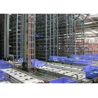 Quality Metal Warehouse commercial Automatic Racking Systems With High Racks And Automatic Piler for sale