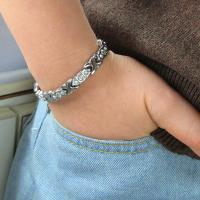 Quality China factory supply wholesale titanium charm magnetic bracelet,colorfull health jewelry for sale