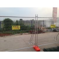 Quality Q235 Steel Temporary Fencing , Site Security Fence Panels High Strength for sale