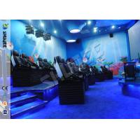 Quality New Technique 5D Cinema with Motion Chair, Special Effects and Environment Effects for sale