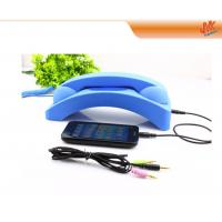 Quality Volume adjustment 3.5mm mobile phone Anti Radiation Headset, anti interference earpiece for sale