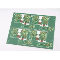 Quality Green Solder Mask Rigid Flexible PCB 4 Layer with Immersion Gold Plating for sale
