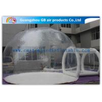Transparent PVC Inflatable Lawn Tent Bubble Clear Dome Tent for Camping for sale