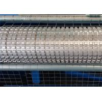 Quality Electric Galvanized Wire Roll Mesh Welding Machine PLC Control For Construction for sale
