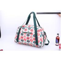 Quality New style light weigh weekender bag with beautiful flower printing for sale