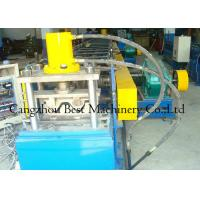 Quality Chain Driven 2 Waves W Beam Highway Guardrail Roll Forming Machine 8-12m/Min Capacity for sale