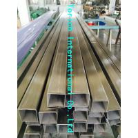 Quality Rectangular Welded Steel Tube , ASTM A554 Welded Stainless Steel Mechanical Tubing for sale