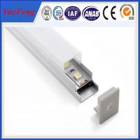 Quality Good! ISO 9001 quality certification LED strip profile aluminum, led profiles with cover for sale