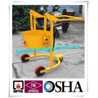 China Oil Drum Stacker Trolley , Fire Resistant File Cabinet For Oil Drum Storage on sale