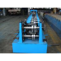 Quality C Z Purlin Interchangeable Steel Rolling Machine / Metal Roll Forming Machine In Warehouse Building for sale