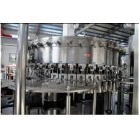 Quality 2.2KW PET bottles Soda water filling machine system 18 heads 3,000BPH (500ml) Capability for sale