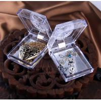 Quality Delicate Durable Acrylic Jewelry Display Case Recycyled With Cast Acrylic for sale