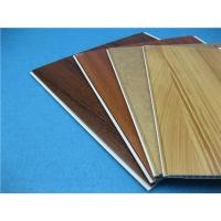 Quality Monistureproof Hot stamping Wood Grain pvc wall cladding sheets Economic and Recyclable for sale