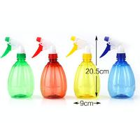 Buy New Style Unique Shape OEM rome Plastic Bottle With Trigger Spray for taking liquid soap at wholesale prices