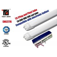 G13 Led T 8 Fluorescent Tube Replacements, 1200mm Led Fluorescent Light Fittings for sale