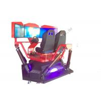 China 360 Degree Motion Driver Car Racing Simulator Games 2.2*2.2*1.8 m Size on sale