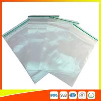 Quality LDPE Plastic Packing Ziplock Bags For Electronic Parts , Zippered Bags For Storage for sale