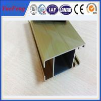 Quality price of aluminium sliding window extrusion frame, aluminum rail for windows and doors for sale