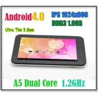 China Cortex A5 Dual Core CPU 1.2GHz Android 4.0 Tablet PC 7 Inch HD IPS Screen 1GB RAM on sale