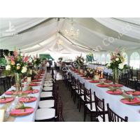Buy cheap Hot Dip Galvanized Steel 15x20M Wedding Reception Tents For 250 People from wholesalers