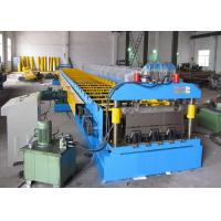 Buy SGS Decking Floor Sheet Roll Forming Machine Hydraulic Cutting Type at wholesale prices