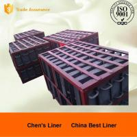 Buy cheap Retension Ring Liners / Cement Mill Liner Plates Hardness HRC52 Coal-fired Power Plant from wholesalers