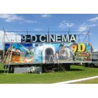 Quality Safe Special Mobile 9D XD Theatre With Sunproof And Waterproof Truck for sale