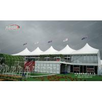China White Roof Cover Durable Strong Heavy Waterproof  Wedding Tent   For Outdoor 800 People for sale