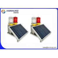 Quality IP65 Solar Obstruction Light With Lightest Environmental Recyclable Batteries for sale