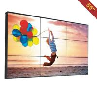 China Advertising Video Wall Display Monitors , DID Multi Screen Video Wall Low Heat Radiation on sale