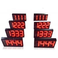 Quality Semi - Outdoor Digital Price Sign Gas Station Regular Red Color 12'' 300mm for sale