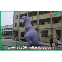 Quality Custom Animal Dinosaur Inflatable Cartoon Characters Model / Figure /  For Advertisement for sale