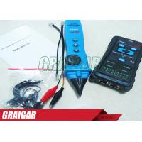 Buy Multifunction Network Tester LAN Ethernet Wire Tracker Finder Meter / Telephone Line Tester at wholesale prices