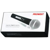 Buy Handheld Metal Tube Microphone , Professional Dynamic wired Microphone at wholesale prices